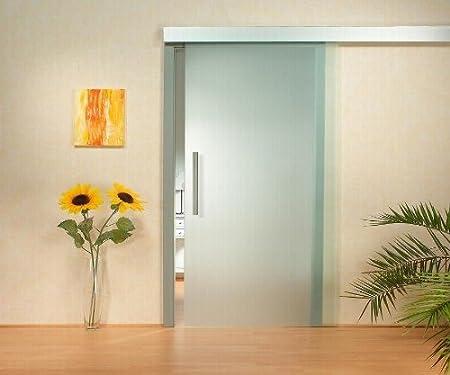 St 716 Sliding Glass Door 900 X 2050 X 8 Mm Din Right 8 Mm Satinato