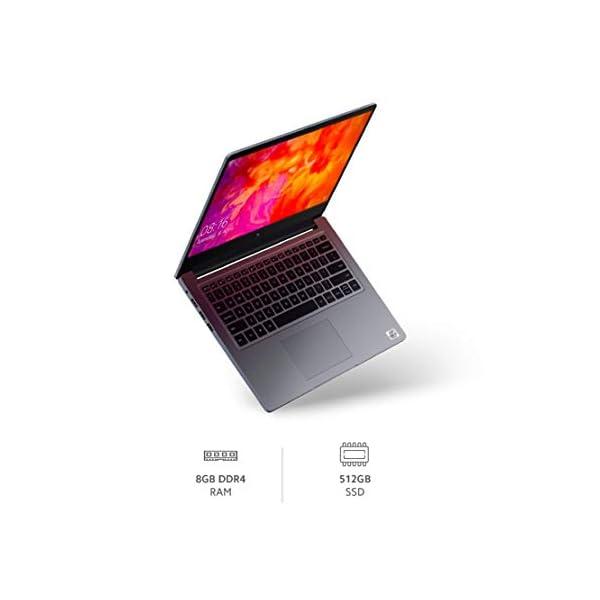 Mi Notebook 14 Intel Core i5-10210U 10th Gen Thin and Light Laptop(8GB/512GB SSD/Windows 10/Intel UHD Graphics/Silver/1… 5 41C0q0IuahL