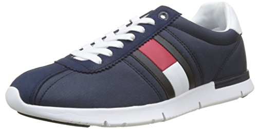 Azul Navy Sneaker para 406 Tommy Hilfiger Tommy Retro Zapatillas Lightweight Hombre tw0zf1qxC