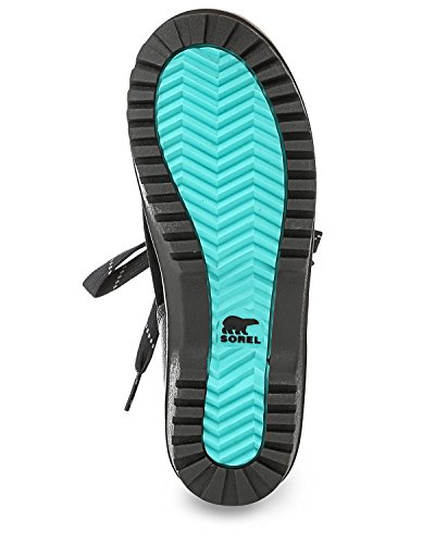 Pictures of Sorel Meadow Lace Winter Snow Boot Shoe - Black/dark Grey 2