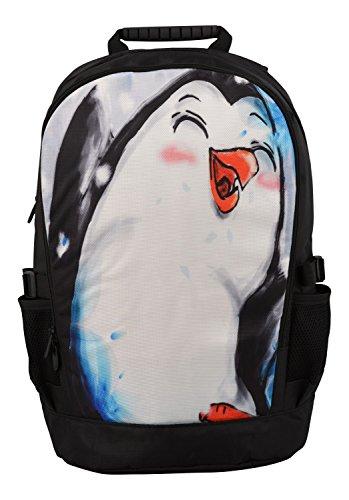 MySleeveDesign mochila cartera con compartimento para portátiles �?VARIOS DISEÑOS Pinguin