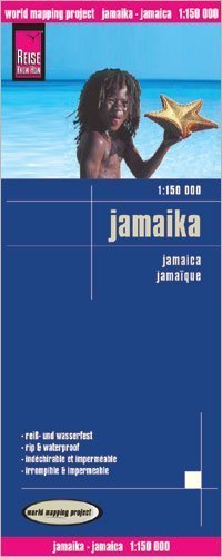 Jamaica 1:150,000 Travel Map, waterproof, GPS-compatible REISE by Reise Knowhow (2012-12-10)