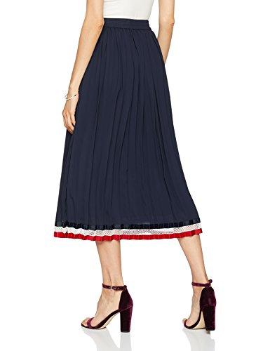 Femme Hilfiger 403 Midnight Bleu Roya Jupe Skirt Tommy x7wqdI7
