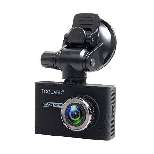 "TOGUARD Dashcam, Auto Kamera mit 2"" LCD, Full HD 1080P H.264, G-Sensor, Loop Endlosaufnahme"