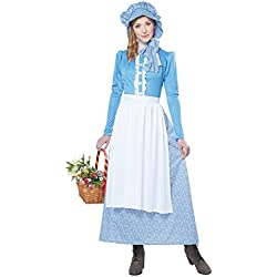 California Costumes Women's Pioneer Woman, Blue/White, X-Large