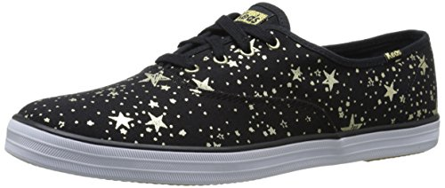 Keds Women's Champion Celestial Fashion Sneaker, Black, 10 M US