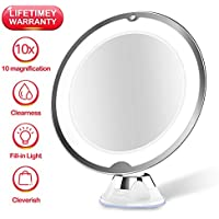 JUHALL 10X Magnifying Makeup Vanity Mirror With Lights