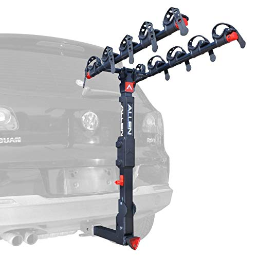 Allen Sports Premier Locking Quick Release 5-Bike Carrier for 2 in. Hitch, Model QR555