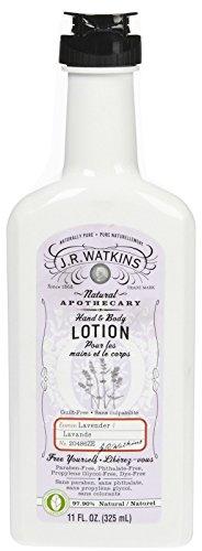 J. R. Watkins Natural Hand & Body Lotion - Lavender - 11 oz (Lemon Shea Cream Watkins Butter)