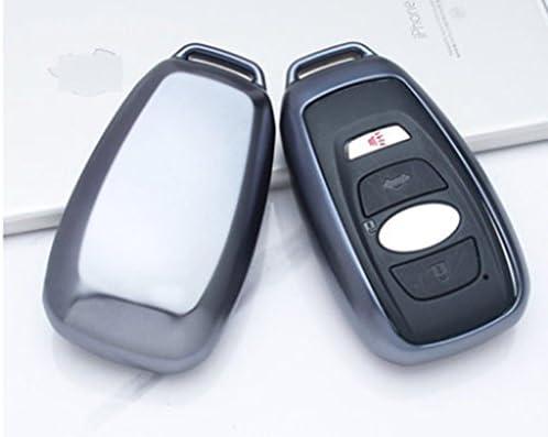 [해외]Eppar New Protective TPU Key Box Cover 1PC for Subaru Ascent Levorg XV Legacy Forester BRZ Outback Impreza WRX (Black) / Eppar New Protective TPU Key Box Cover 1PC for Subaru Ascent Levorg XV Legacy Forester BRZ Outback Impreza WRX...