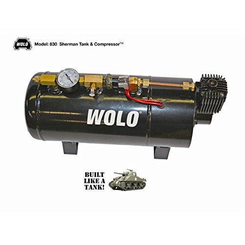 Viair Air Source Kit - Wolo 830 Sherman Tank & Compressor All-in-One