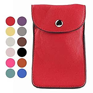 PEACH-ships in 48 hours PU Leather Pouches for Samsung Galaxy S3 I9300 (Assorted Colors) , Brown
