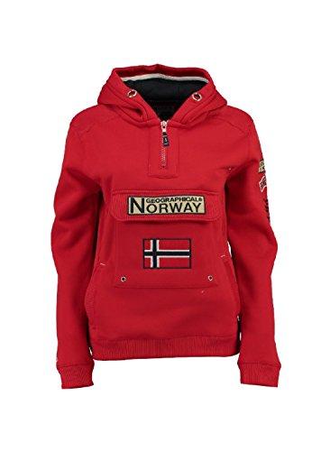 Norway Enfant Sweat Geographical Gymclass Rouge 81qxdBBwX