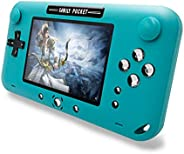EASEGMER Handheld Games for Kids, Built-in 500 Retro FC Video Games - 4 Inch Portable Video Games Player Suppo