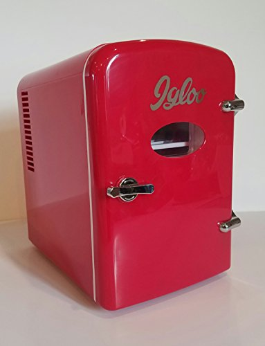 Igloo MIS129 B RED Mini Compact Refrigerator