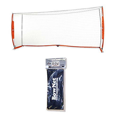 Bownet 7 x 16 Portable Soccer Goal Bundle with Bownet Sand Bags - 2 Pack Set by Bownet