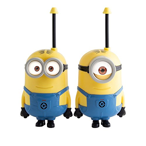 Minions-375048-Set-de-2-walkie-talkies-IMC-Toys-375048-Walkie-talkie-Juguetes-Figura-A-partir-de-6-aos