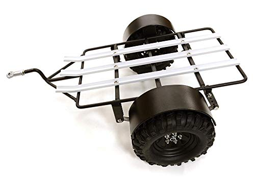 Integy RC Model Hop-ups C26860 Realistic Leaf Spring Motorcycle Trailer Kit for 1/10 Scale RC