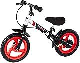 High Bounce Balance Bike Adjustable from 11''-16'' (Black)