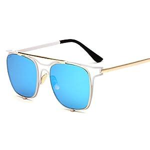 sunglasses new skull mirror metal hollow glasses women sunglasses,C4