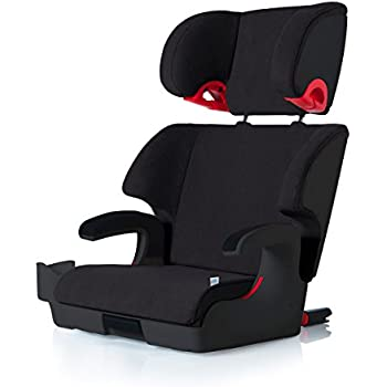 Clek Oobr High Back Booster Car Seat with Recline and Rigid Latch,Shadow