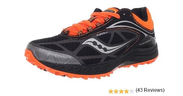 Saucony Peregrine 3 Trail Tenis para Correr para Hombre, Negro (Negro/Anaranjado), 44 EU: Amazon.es: Zapatos y complementos