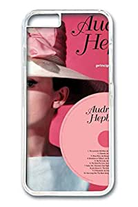PC Hard Clear Case For iPhone 6 Plus Lastest Version Case Suit iPhone 4.7 Inch Super Hot And Ultra-thin case Easy To Operat Case Audrey Hepburn 1