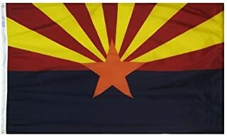 product image for All Star Flags 3x5' Arizona Heavy Weight Nylon Flag from