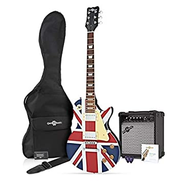 Guitarra Eléctrica New Jersey + Pack Completo - Union Jack: Amazon.es: Instrumentos musicales