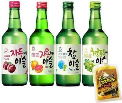 韓国 焼酎 種類