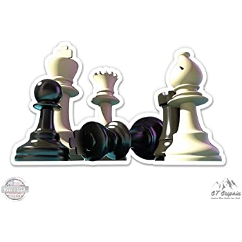 Vinyl Sticker Waterproof Decal GT Graphics Chess