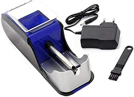SANDA SD-2050 Maquina Liadora de Tabaco Entubadora Electrica para Cigarrillos de Papel de Liar Tubos de Cigarros Maquinilla Portatil para Fumar Fumadores (Azul)