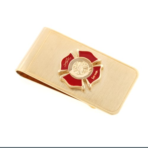 JJ Weston Firefighter Money Clip. Made in the USA.