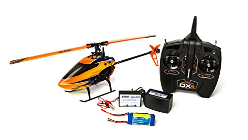 (Blade 230 S V2 RTF RC Helicopter: Brushless Electric CP Heli | 2.4GHz DXe Tx/Rx Radio System with Safe Tech | 800mAh 3S Li-Po Battery and Charger, (Orange))