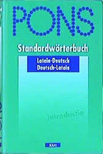 PONS Standardwörterbuch, Latein Gebundenes Buch – 1. Juli 2001 unbekannt PONS Standardwörterbuch Klett 3125175097