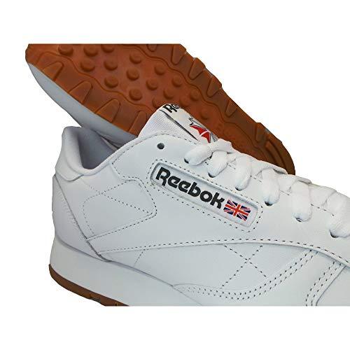 Cruzado Para Reebok Leather Classic Gum Wht Hombre Entrenamiento tqO8aA