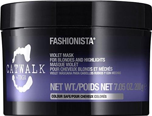 TIGI Catwalk Fashionista Mask for Blondes/Highlights, Violet
