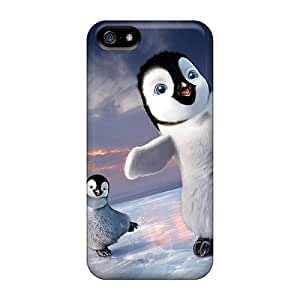 Iphone 5/5s Case Cover Skin : Premium High Quality 2011 Happy Feet 2 Case