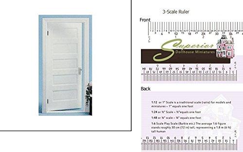 Dollhouse Door Panel - 4