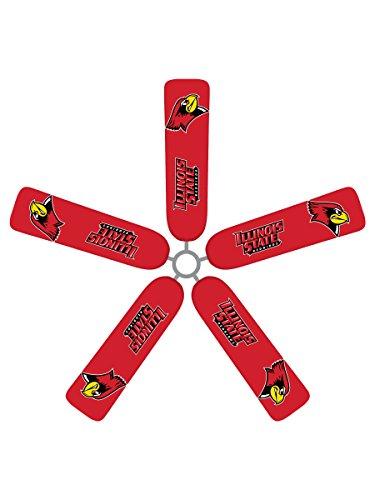 Fan Blade Designs Illinois State RedBirds Ceiling Fan Blade Covers