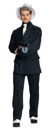 Deluxe Gangster Zoot Suit Costume - Mens (Birthday Suit Costumes)
