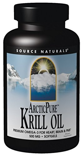 Source Naturals ArcticPure Krill Oil 500mg Packed with