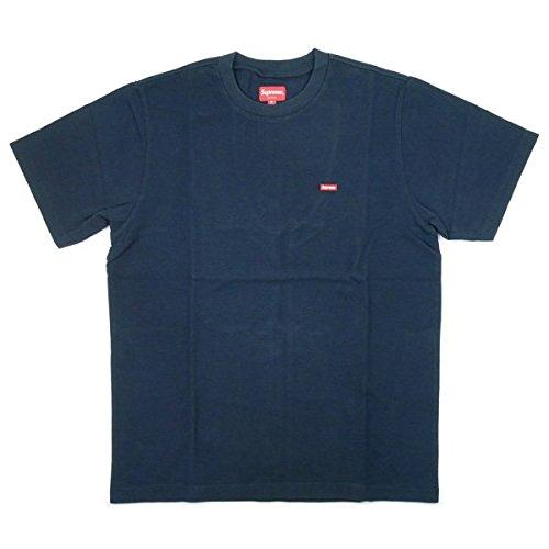 SUPREME シュプリーム 17AW Small Box Pique Tee Tシャツ 紺 M 並行輸入品 B075S5471V