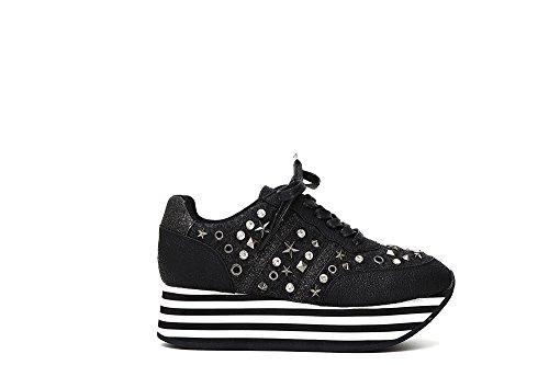 CafèNoir , Damen Sneaker * Schwarz