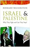 Front cover for the book Israel and Palestine: Why They Fight and Can They Stop? by Bernard Wasserstein