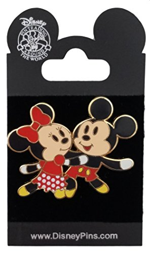 2007 Mickey Mouse - Disney Pin - Flexible Characters Series - Mickey & Minnie Mouse