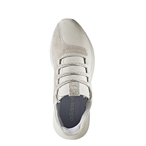 Adidas Heren Buisvormige Schaduw Sportschoen Kristalwit / Strekkende Wit
