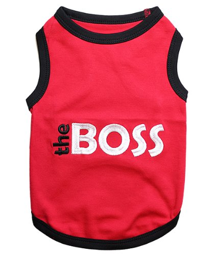 Parisian Pet The Boss Dog T-Shirt, X-Large