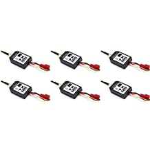 6 x Quantity of Helicopter Quadcopter Airplane Boat Car Controller 5.8GHz Video Transmitter TX5803 Black 200mW FPV