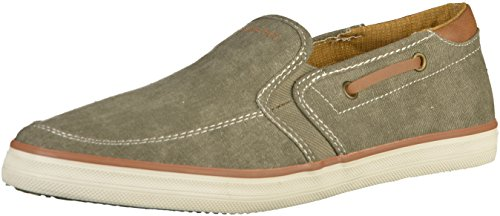 Bugatti Men's 321502636900 Slip on Trainers Light Green f7VPuetR